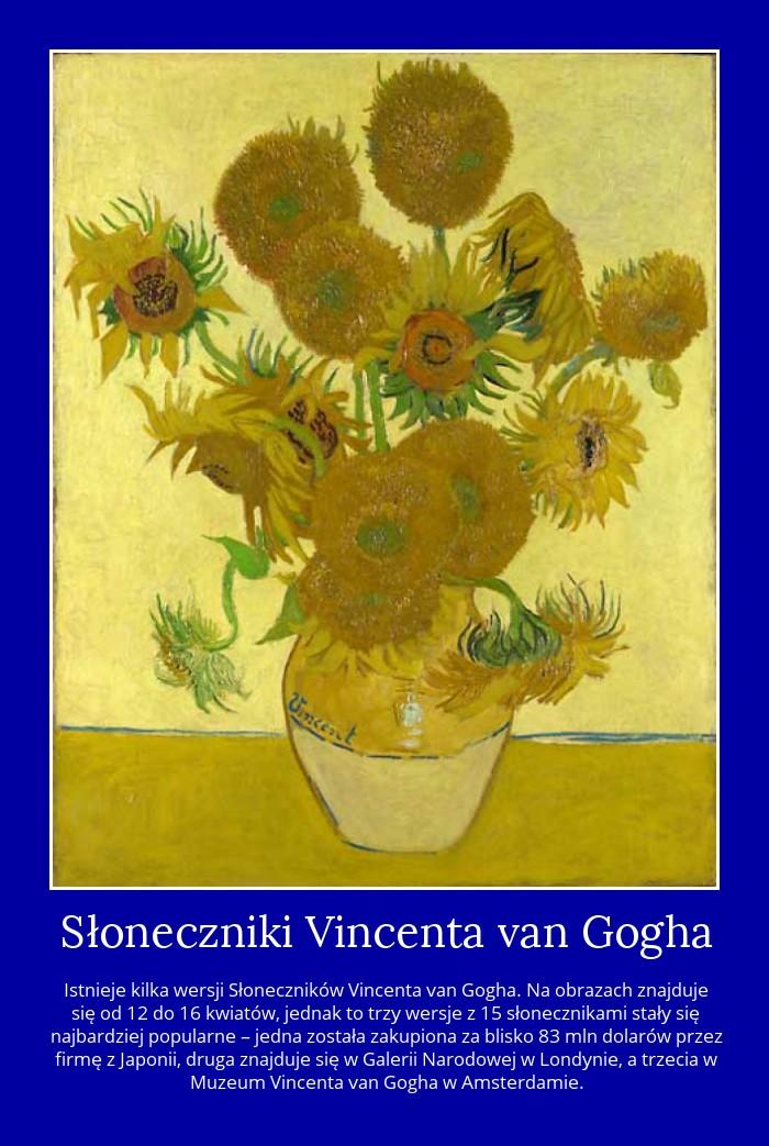 Słoneczniki Vincenta van Gogha