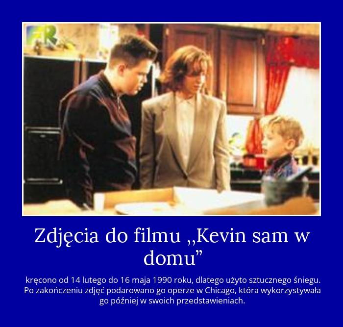 Zdjęcia do filmu ,,Kevin sam w domu?